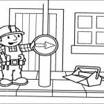Bob the Builder Coloring Book Excellent Colouring In Sheets Signs Google Search