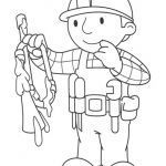 Bob the Builder Coloring Book Inspiring Bob the Builder Coloring Free Coloring Pages Globalchin Coloring
