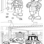 Bob the Builder Coloring Book Marvelous Bob the Builder to Print for Free Bob the Builder Kids Coloring Pages