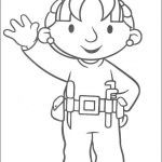 Bob the Builder Coloring Book Pretty Bob the Builder Coloring Picture Bob the Builder Party Ideas