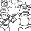 Bonnie Pictures Fnaf Excellent 16 Awesome Fnaf Mangle Coloring Pages