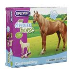 Breyer Horse Coloring Pages Best Buy Breyer My Dream Horse Customizing Kit Thoroughbred In Cheap