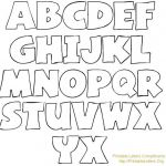 Bubble Alphabet Letters to Print Inspiring Free Alphabet Letter Templates Printable for to Print – Momsday