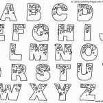 Bubble Alphabet Letters to Print Wonderful Letter Printable Coloring Pages Luxury Bubble Letters for Bulletin