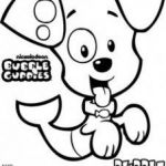 Bubble Coloring Sheets Beautiful Bubble Guppies Coloring Pages