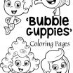 Bubble Coloring Sheets Elegant Bubble Guppies Coloring Pages 25 Free Printable Sheets