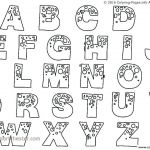 Bubble Letter Alphabet Printable Inspirational Letter G Coloring Pages Best Free Letter Coloring Sheets with