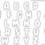 Bubble Letters to Print Creative Big O Alphabet Coloring Pages – Lifewiththepeppers