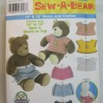 Build A Bear Printable Awesome Sew A Bear Pattern Simplicity 5278 15 Inch or by Minniesstitches
