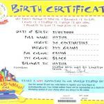 Build A Bear Printable Inspirational Create Birth Certificate Online – Nylor
