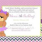 Build A Bear Printable Inspirational Free Party Invitation Templates Printable – Medent