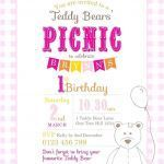 Build A Bear Printable Unique Teddy Bear Invitation Templates Trend Invitations for Birthday