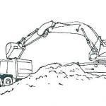 Bulldozer Coloring Pages Creative Printable Job Coloring Pages – Alellajovefo