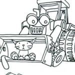 Bulldozer Coloring Pages Inspiration √ Bob the Builder Coloring Pages and Ausmalbild Kran Ryder Paw
