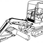 Bulldozer Coloring Pages Inspiration Lovely Bulldozer Coloring Page 2019