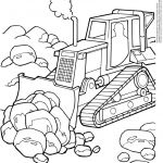 Bulldozer Coloring Pages Inspired Lovely Bulldozer Coloring Page 2019