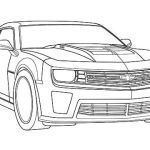 Bumble Bee Coloring Sheet Awesome Muscle Car Camaro Bumblebee Car Coloring Pages Best Place to Color