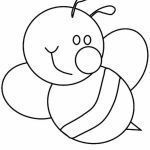 Bumble Bee Coloring Sheet Inspirational Bumblebee Cute Bumblebee with Big Smile Coloring Page