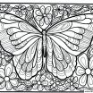 Butterfly Adult Coloring Pages Best Coloring Ideas 40 Tremendous Free Line Coloring Pages for Adults