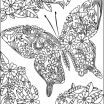 Butterfly Adult Coloring Pages Inspiring Coloring Page Twenty Adult Coloring Pages butterfly Page Amazing