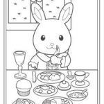 Calico Critters Book Pretty 51 Best Calico Critters Coloring Pages Images In 2017