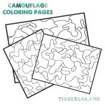 Camo Coloring Pages Awesome Camo Template Free Printable Birthday Invitations New Army
