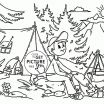 Camping Coloring Book Inspirational Coloring Pages Summer Season New Fresh Printable Cds 0d Disney