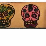 Candy Skulls Pictures Amazing Buy A Custom Sugar Skulls Day the Dead Leather Belt Made to