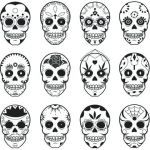Candy Skulls Pictures Amazing Small Skull Template