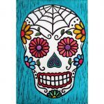 Candy Skulls Pictures Awesome Sugar Skulls Paintings