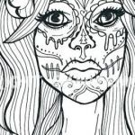 Candy Skulls Pictures Best Free Printable Sugar Skull Coloring Pages Inspirational Cool Skull