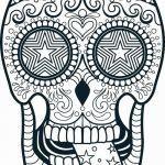 Candy Skulls Pictures Brilliant Inspirational Cool Skull Coloring Pages – Exad