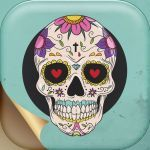 Candy Skulls Pictures Creative Sugar Skull Wallpaper – Day Of the Dead Picture S for Home and Lock
