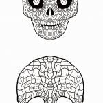 Candy Skulls Pictures Excellent Sugar Skull Drawing Template Unique Addams Family Gomez & Morticia