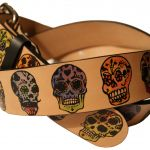 Candy Skulls Pictures Inspirational Buy A Custom Sugar Skulls Day the Dead Leather Belt Made to