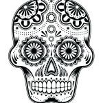 Candy Skulls Pictures Marvelous Day the Dead Skull Template Blank Skulls Templates Sugar Ideas