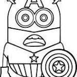 Captain America Coloring Sheet Fresh Captain America Minion Coloring Pages Best Superhero Coloring