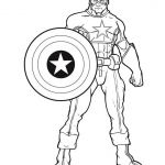 Captain America Coloring Sheet Fresh Captain America Shield Drawing