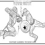 Captain America Coloring Sheet Inspirational Civil War Coloring Pages to Print at Getdrawings