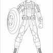 Captain America Coloring Sheet New Marvel Coloring Book
