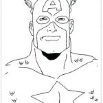 Captain America Coloring Sheet Unique Captain America Shield Coloring Pages Printable – Psubarstool