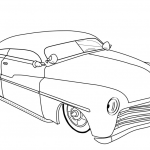 Car Printable Coloring Pages Inspired Coloring Page Lowrider Coloring Pages Outstanding Page 50s Hotod