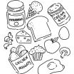 Cardinals Coloring Page New Awesome Piece Bread Coloring Page – Doiteasy