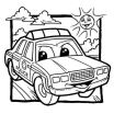 Cars Coloring Book Best Police Car Coloring Pages