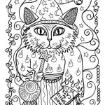 Cat Coloring Pages for Adults Fresh 5 Pages Instant Download Coloring for Adults Fantasy
