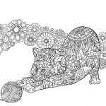 Cats and Kittens Coloring Books Awesome Um Reino De Cores Creative Flow