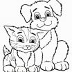 Cats and Kittens Coloring Books Beautiful Cute Cat Coloring Pages Luxury Kitten Coloring Pages for Adults Cute