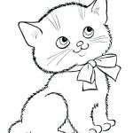Cats and Kittens Coloring Books Excellent Printable Kitten Coloring Pages – Alellajovefo