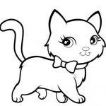 Cats and Kittens Coloring Books Exclusive Kittens Clipart Coloring Book Pencil and In Color Kittens Free
