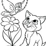 Cats and Kittens Coloring Books Inspired Cute Cat Coloring Pages Luxury Kitten Coloring Pages for Adults Cute